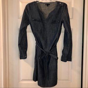 Gap Blue Jean Dress